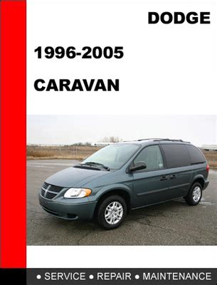 car owners manuals free downloads 1998 dodge caravan security system dodge caravan 1996 2005 workshop service repair manual download m