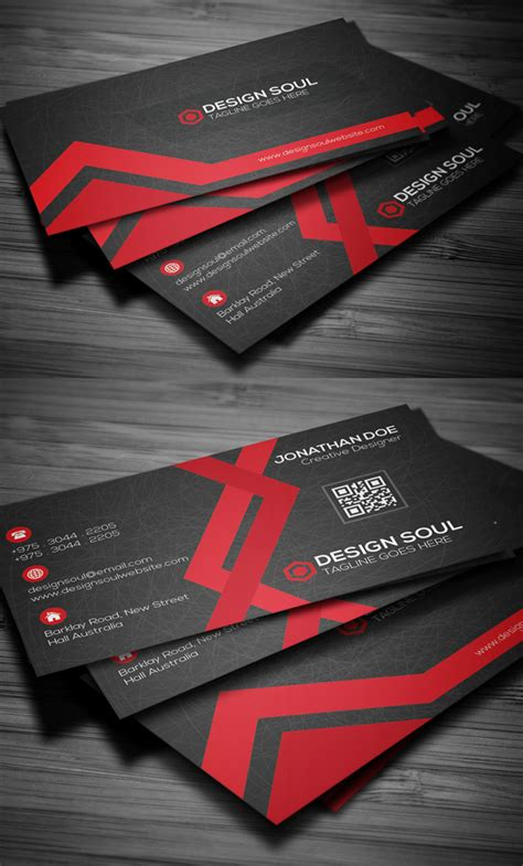 awesome  business cards psd templates  mockup