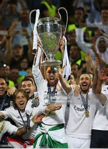 Sergio Ramos Champions League Trophy