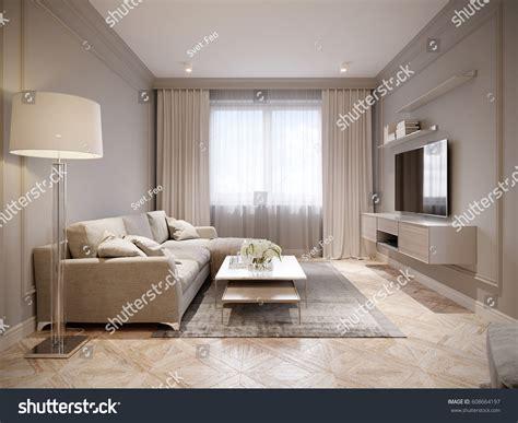 Beige And Gray Living Room [peenmediacom]