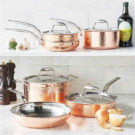 cookware table sur sets piece copper registry items wedding main