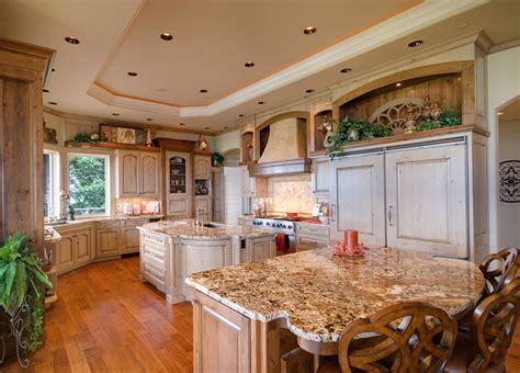 custom luxury kitchen designs part