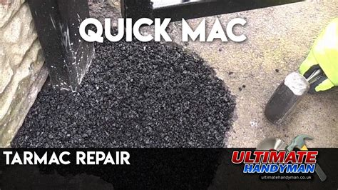 tarmac repair youtube