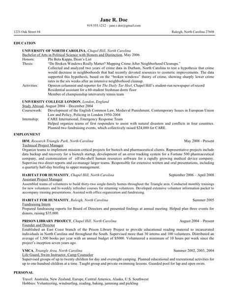 7 law school resume templates prepping your resume for law school school of law university