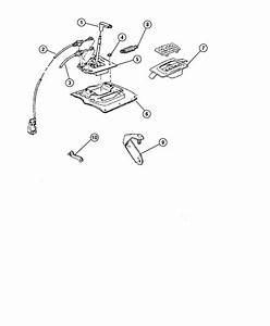 Jeep Grand Cherokee Bracket  Shift Cable  Shift Cable
