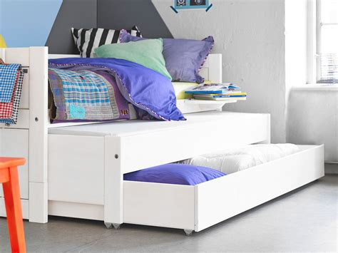 Day Bed with Pull out Bed   Drawer   White for kids in S.A