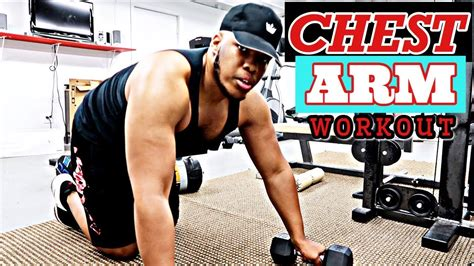 5 Minute Arm & Chest BURN-OUT | Fall 2019 Workout - YouTube