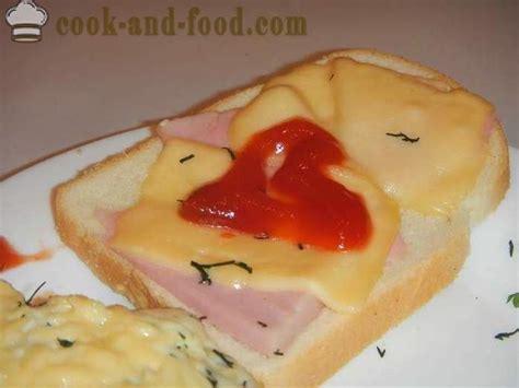 Vienkāršas receptes karstā sviestmaizes ar sieru un desu ...