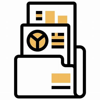 Annual Report Icon Folder Document Icons Iconfinder