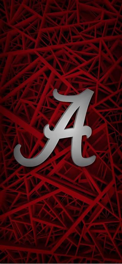 Alabama Football Tide Crimson Roll Script Iphone