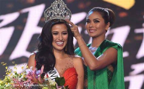 Rachel Peters bags Miss Universe Philippines 2017 crown