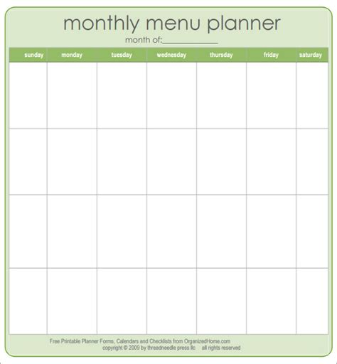 Free Printable Menu Templates by Blank Menu Template 45 Free Psd Eps Pdf Format