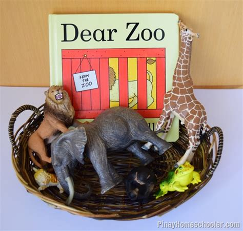 letter  zoo animal activities  pinay homeschooler