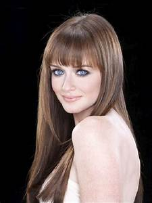 Alexis Bledel   possible hair?!   Pinterest   Her hair ...