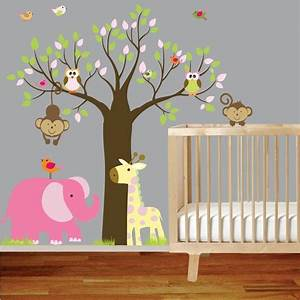 24 best images about animals to paint on pinterest With nice safari wall decals for nursery