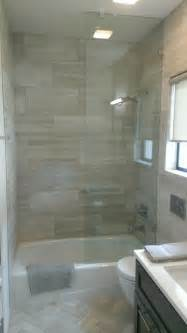 Transitional Ceiling Lights by Bathroom 12 Quot X 24 Quot Valentino Gray Marble Walls Floor