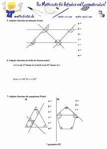 Winkel Berechnen übungen Mit Lösungen : geometrie klasse 7 arbeitsbl tter winkel symmetrie dreieck ~ Themetempest.com Abrechnung