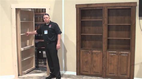 how to build a murphy door murphy door flush mount bookcase door demo