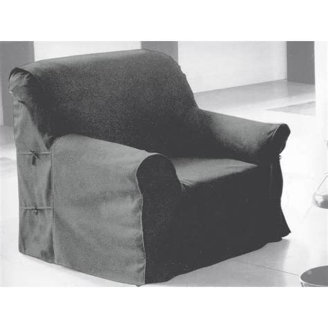 housse de fauteuil en coton panama gris clair achat vente housse de fauteuil cdiscount