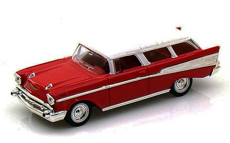 1957 Chevrolet Models by 1957 Chevrolet Nomad Yatming 94203 1 43 Scale Diecast