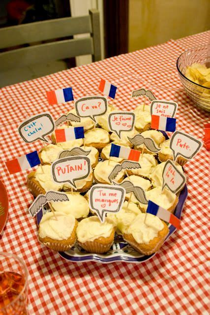 smilesfrommel au revoir france  french themed party