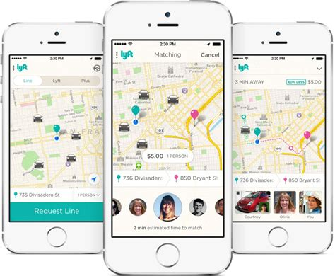 Lyft Launches Carpooling-with-strangers Service, Lyft Line