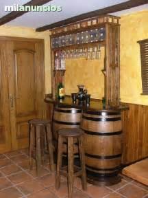 Barra Bar De Barriles Con Altillo