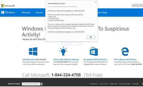 microsoft windows help desk remove the call windows help desk immediately tech support