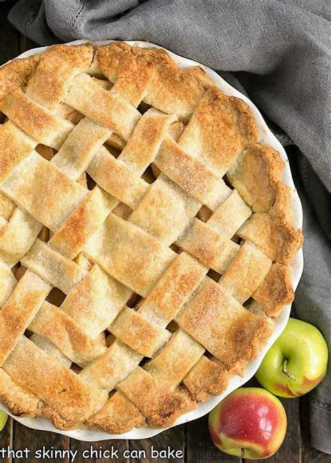 Once you are ready to make a pie, roll the dough out to a thin layer, using a little extra flour to make sure it does not stick. Perfect Apple Pie from Scratch - That Skinny Chick Can Bake