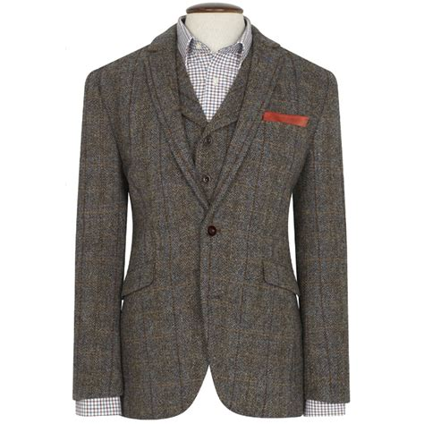 modern harris tweed jacket new wool premium mens sumburgh harris tweed jacket coat uk sizes 36s to 48l ebay