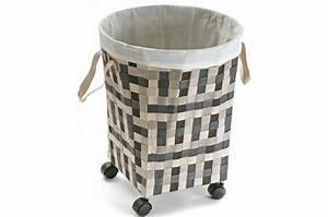 Panier A Linge Design : panier linge transportable panier linge pas cher ~ Teatrodelosmanantiales.com Idées de Décoration