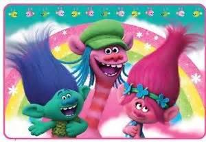 Garden Trolls by Dreamworks Trolls Bath Rug Princess Poppy Branch Rainbow