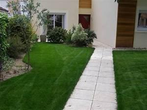 Dalle Allée Jardin : faire une allee de jardin avec des dalles ~ Melissatoandfro.com Idées de Décoration