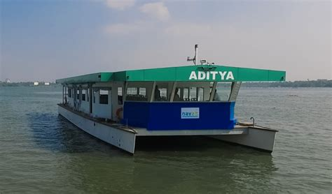 Electric Boat In India by India S Solar Boat Aditya Launched In Kerala By