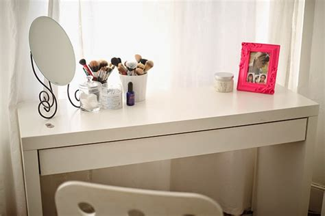 My Ikea Malm Dressing Table // Burningblonde