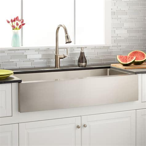 farmhouse kitchen sinks ebay signature hardware 42 quot optimum stainless steel farmhouse 7159