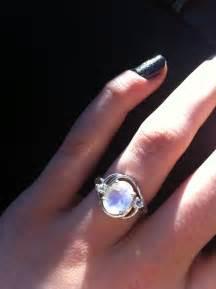 moonstone engagement ring my rainbow moonstone engagement ring вecaυѕe нιѕ нearт and мιne are