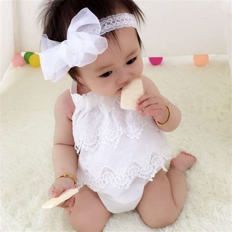 newborn clothing  baby girl cute bodysuits lace