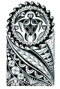 Polynesian Half Sleeve Tribal Tattoo Designs