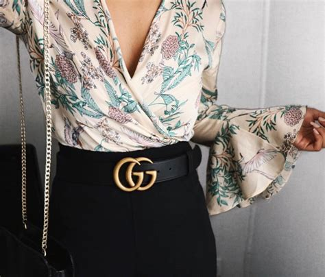 Inspired Outfit The Gucci Belt - Rosie Chuong