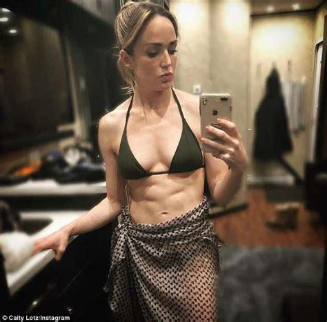 Legends of Tomorrow star Caity Lotz hits back at body