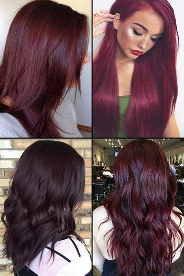 medium hair style photos 9 burgundy hair color ideas for 2017 hair 6121