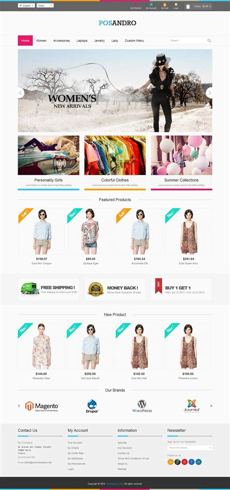 andro responsive prestashop fashion store ecommerce theme