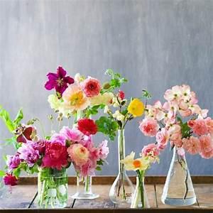le grand vase en verre dans 46 belles photos With chambre bébé design avec bouquet de fleurs magnifique