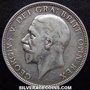 1936 George V British Silver Florin 2 Shillings