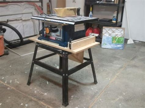 contractor table  dust collection upgrade  erics