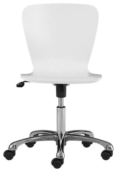 Felix White Office Chair - Modern - Office Chairs - by
