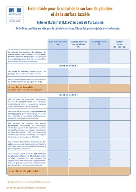 calcul surface utile bureaux fiche d 39 aide pour le calcul de la surface de plancher et