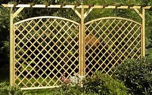 Pergola Holz Selber Bauen : rankgitter aus holz selber bauen ~ Markanthonyermac.com Haus und Dekorationen