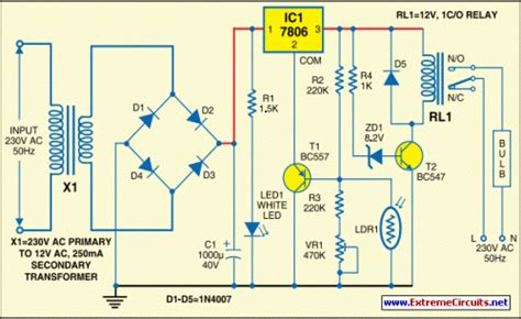 How Build Automatic Light Controller Using